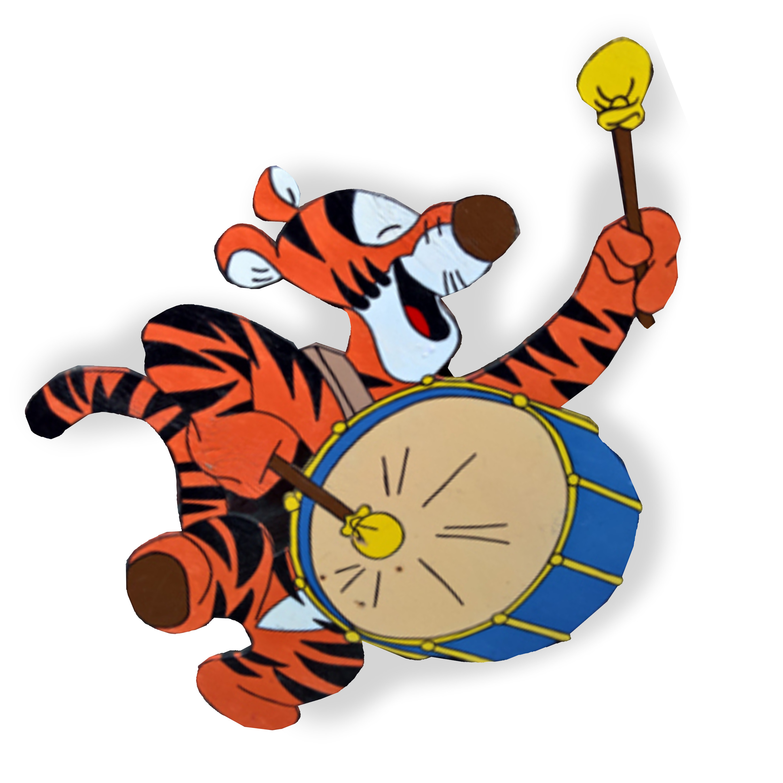tijgervierkant