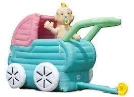 # 30 Wandelwagen met baby, opblaasbaar 3